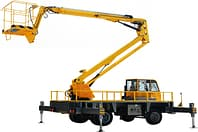 Car mounted boom lift