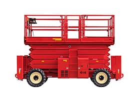 Rough terrain Scissor Lift